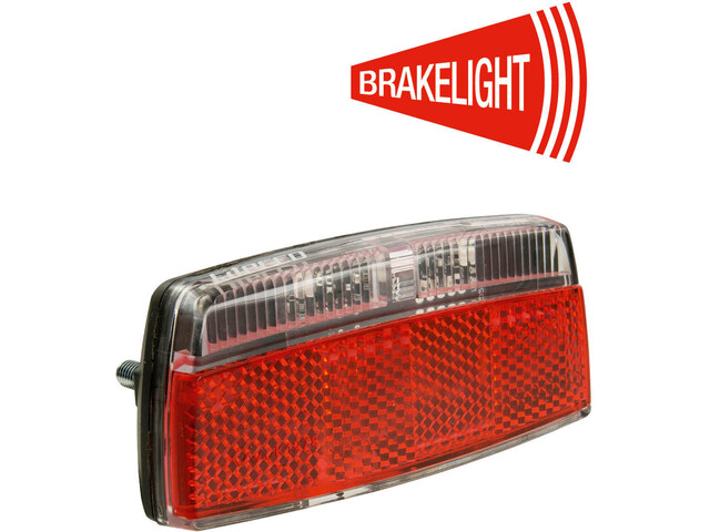 Litecco G-Ray-E1 Rear Light with Brake Light Function, black/red